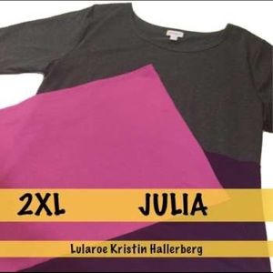 LulaRoe 2XL Julia